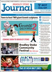 June 2018 issue of the Bradley Stoke Journal magazine.