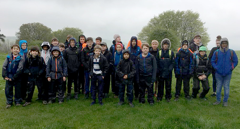 Expedition camp at 1st Bradley Stoke Scouts.