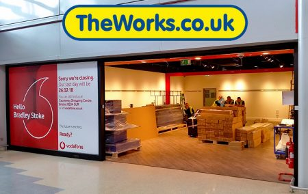 The Works: New store opening soon at the Willow Brook Centre, Bradley Stoke.