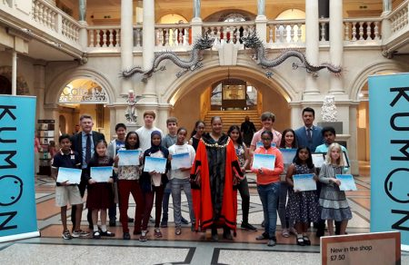 Kumon Centres' High-Level Students Awards Ceremony at the Bristol Museum and Art Gallery.