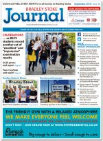 September 2018 issue of the Bradley Stoke Journal news magazine.