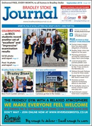 September 2018 issue of the Bradley Stoke Journal magazine.