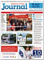 October 2018 issue of the Bradley Stoke Journal news magazine.