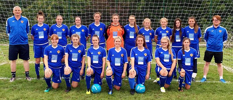 Photo of the Bradley Stoke Ladies FC First Team (2018/19 season).