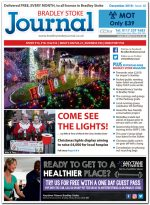 December 2018 issue of the Bradley Stoke Journal news magazine.