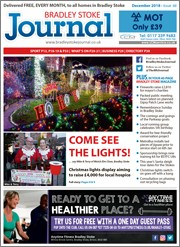 December 2018 issue of the Bradley Stoke Journal magazine.