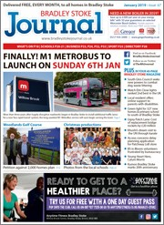 January 2019 issue of the Bradley Stoke Journal magazine.