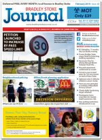 February 2019 issue of the Bradley Stoke Journal news magazine.