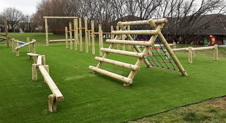 Photo of play equipment at St Michael's Primary School.