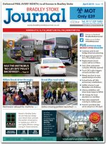April 2019 issue of the Bradley Stoke Journal news magazine.
