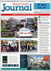 April 2019 issue of the Bradley Stoke Journal magazine.