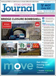 March 2019 issue of the Bradley Stoke Journal magazine.