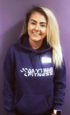 Photo of Libby Bell, the new club manager at Anytime Fitness Bradley Stoke.