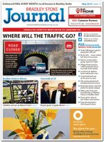 May 2019 issue of the Bradley Stoke Journal news magazine.