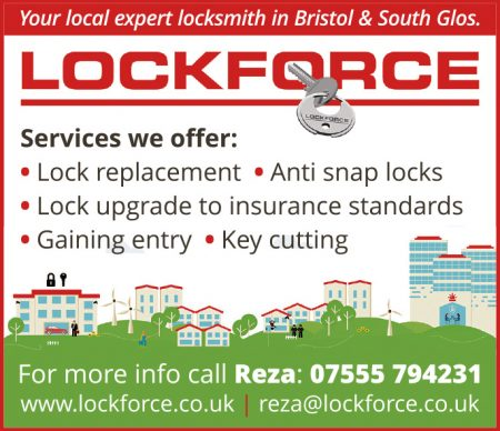 Lockforce Bristol - locksmith in Bradley Stoke.