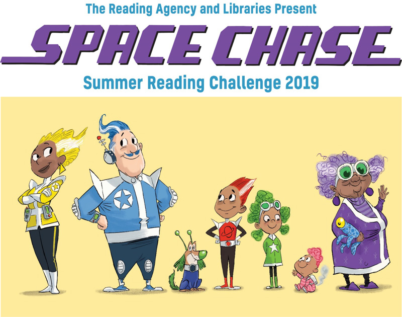 Space Chase, Summer reading Challenge 2019.