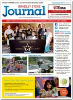 July/August 2019 issue of the Bradley Stoke Journal news magazine.