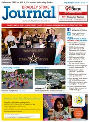 July/August 2019 issue of the Bradley Stoke Journal magazine.