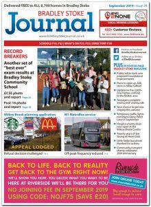September 2019 issue of the Bradley Stoke Journal news magazine.
