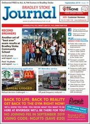 September 2019 issue of the Bradley Stoke Journal magazine.