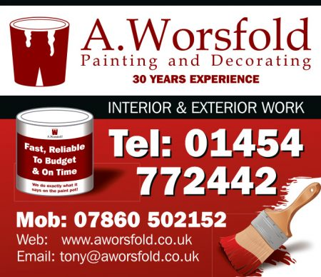 A. Worsfold: Painting and decorating in Bradley Stoke.