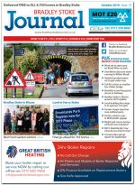 October 2019 issue of the Bradley Stoke Journal news magazine.