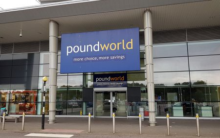 Photo of the former Poundworld unit at the Willow Brook Centre.
