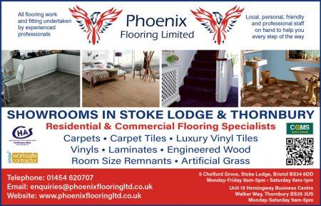 Phoenix Flooring Limited, Stoke Lodge and Thornbury.