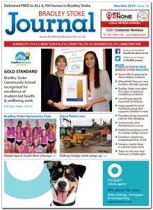 November/December 2019 issue of the Bradley Stoke Journal news magazine.