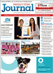 November/December 2019 issue of the Bradley Stoke Journal magazine.