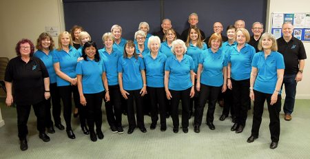 Photo of the Stokes Singers choir.