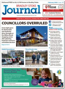 February 2020 issue of the Bradley Stoke Journal news magazine.