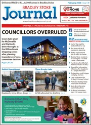 February 2020 issue of the Bradley Stoke Journal magazine.
