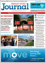 March 2020 issue of the Bradley Stoke Journal magazine.