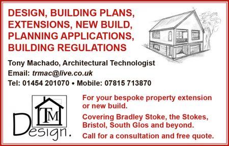 TM Design, architectural technologist in north Bristol.