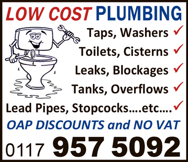A & E Plumbing & Drainage Ltd (trading as Low Cost Plumbing).