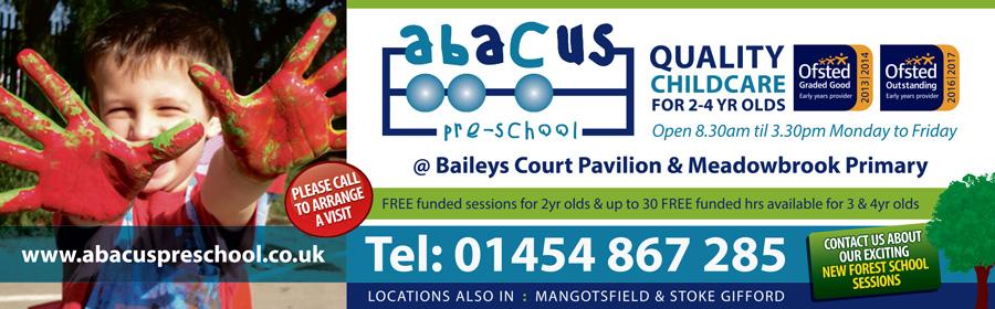 Abacus Pre-School, Bradley Stoke, Bristol.