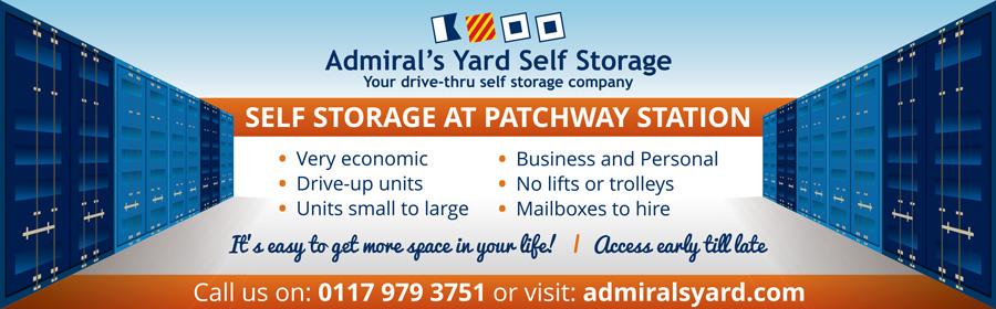 Admiral's Yard Self Storage, Little Stoke, Bristol.