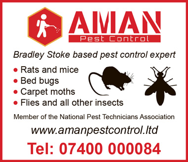 Aman Pest Control, Bradley Stoke, Bristol.