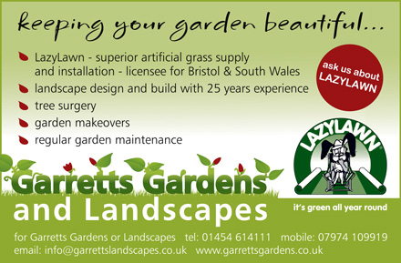 Garretts Gardens and Landscapes – serving Bristol and South Wales.