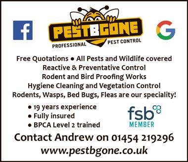 PestBGone (pest control) serving Bradley Stoke, Bristol.