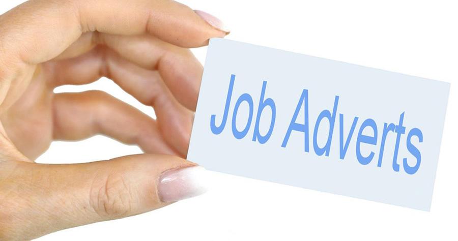 Job adverts.