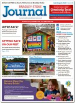 July/August 2020 issue of the Bradley Stoke Journal news magazine.