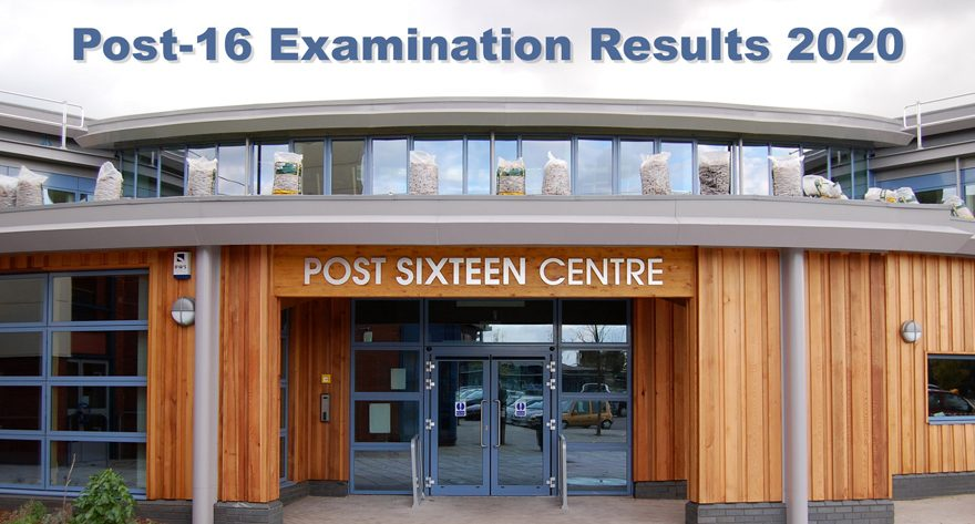 Bradley Stoke Community School: Post-16 examination results 2020.