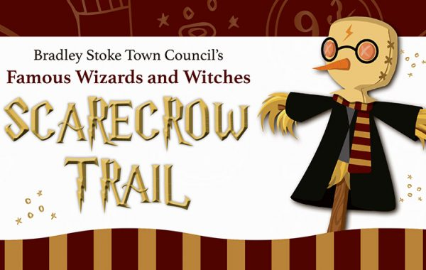 Promotional graphic for the Scarecrow Trail.