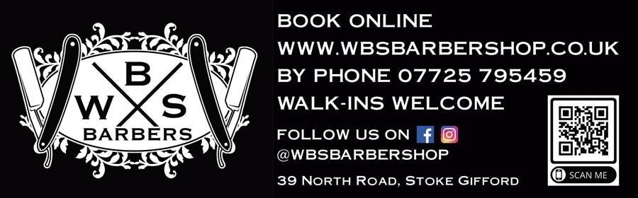 WBS Barbers, North Road, Stoke Gifford, Bristol.