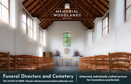 Memorial Woodland: Funeral directors and cemetery,South Gloucestershire.