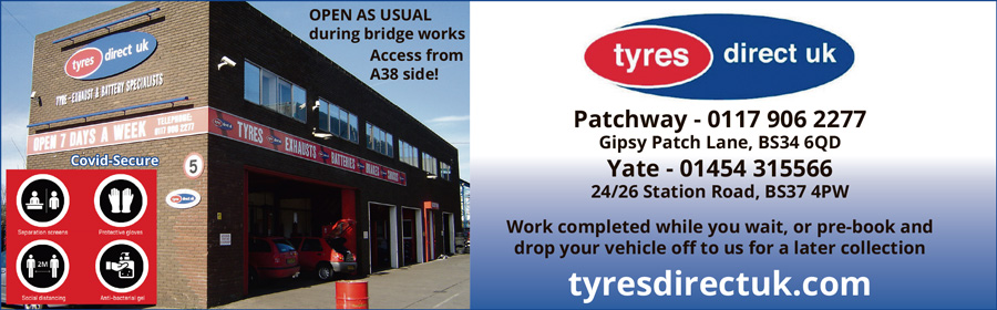 Tyres Direct UK, Patchway, Bristol.