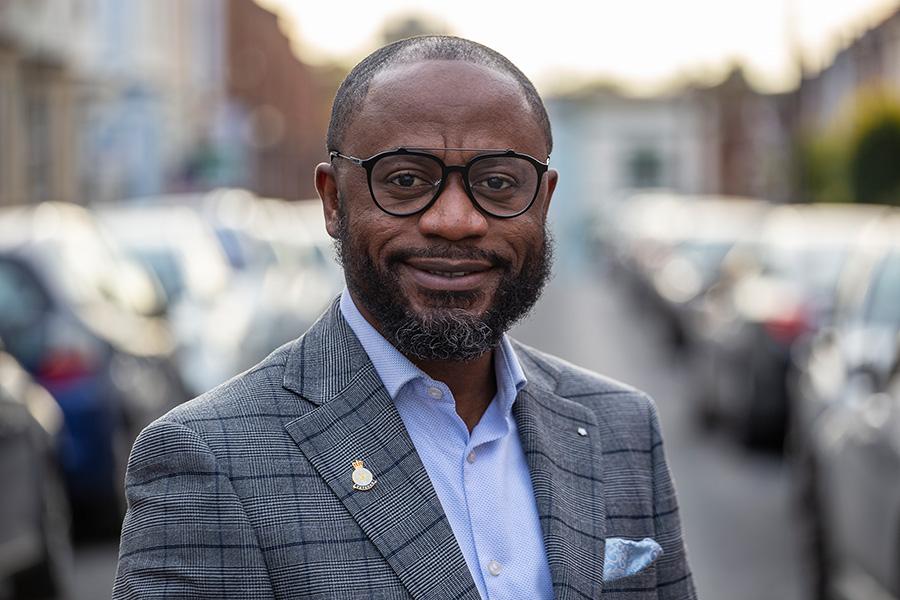 Photo of Cllr Franklin Owusu-Antwi.