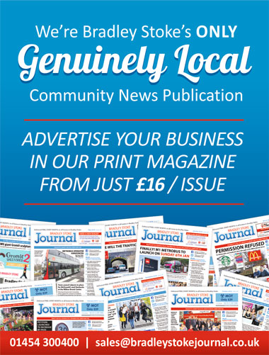 Advertise your business in the Bradley Stoke Journal magazine.